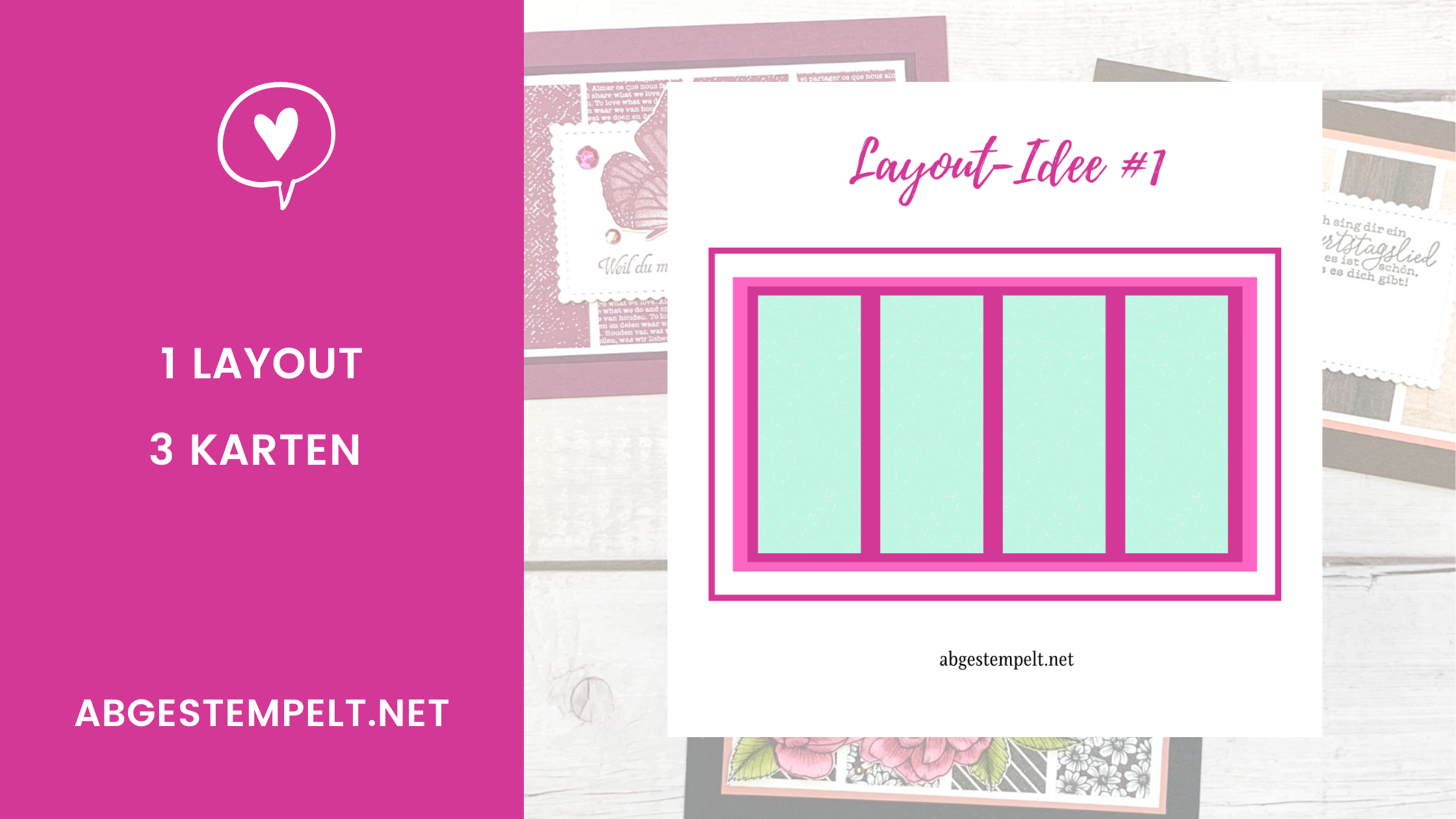 abgestempelt karten layout idee #1 blog stampin up