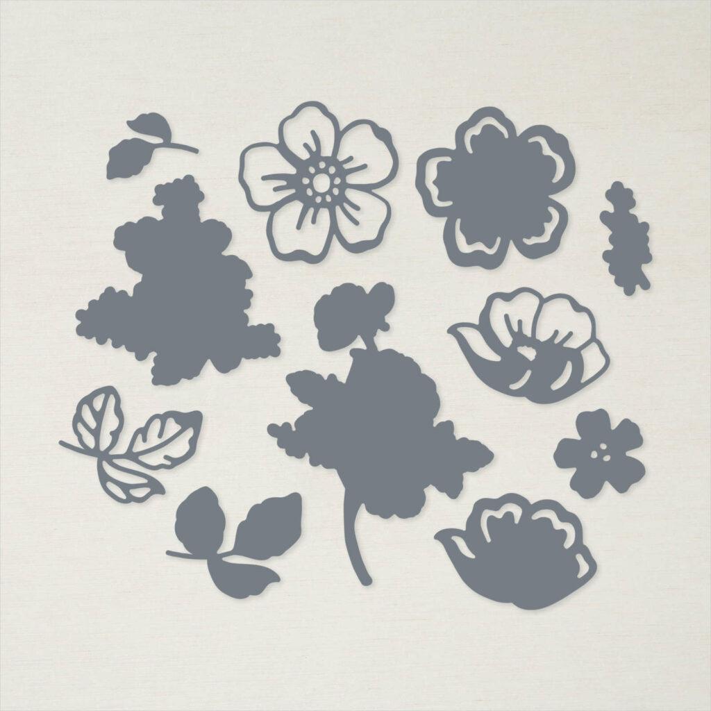 Stanzformen Sommerblüten - 156618