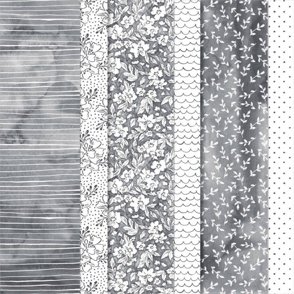 Designerpapier Geschmackvoll gemalt - 156630