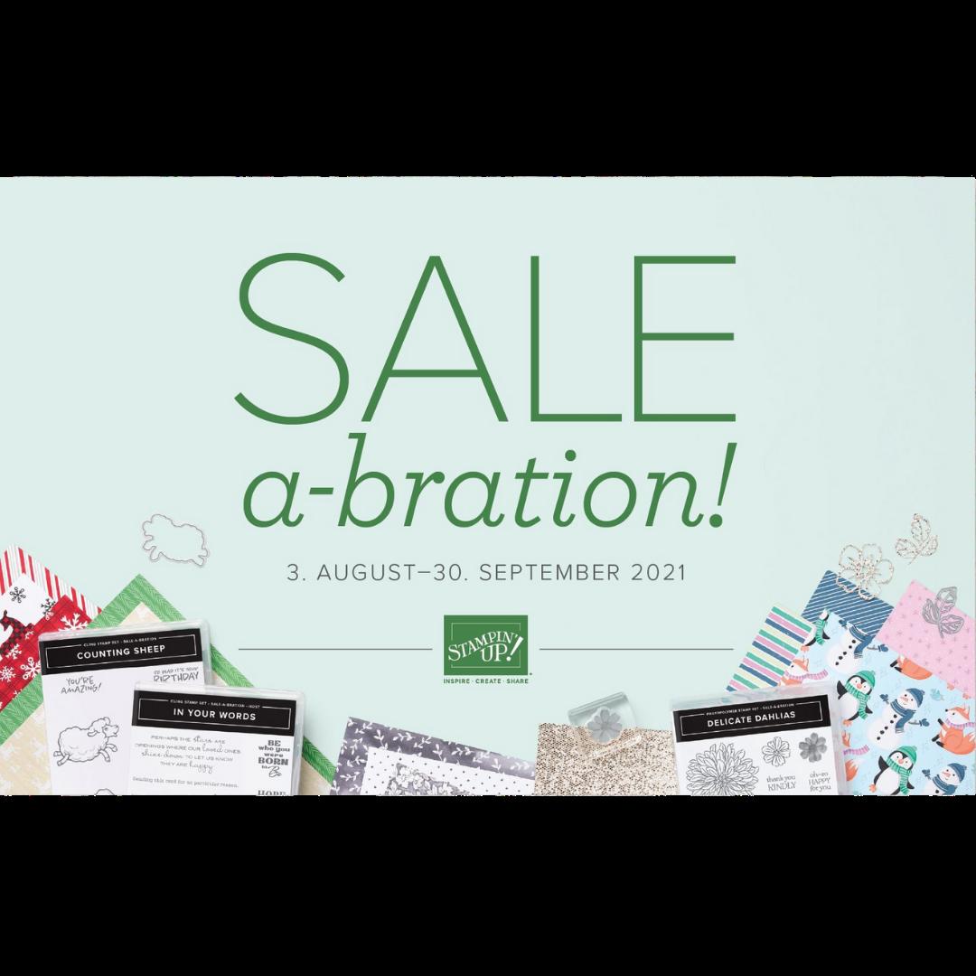 Stampin Up Sale A bration broschüre Cover