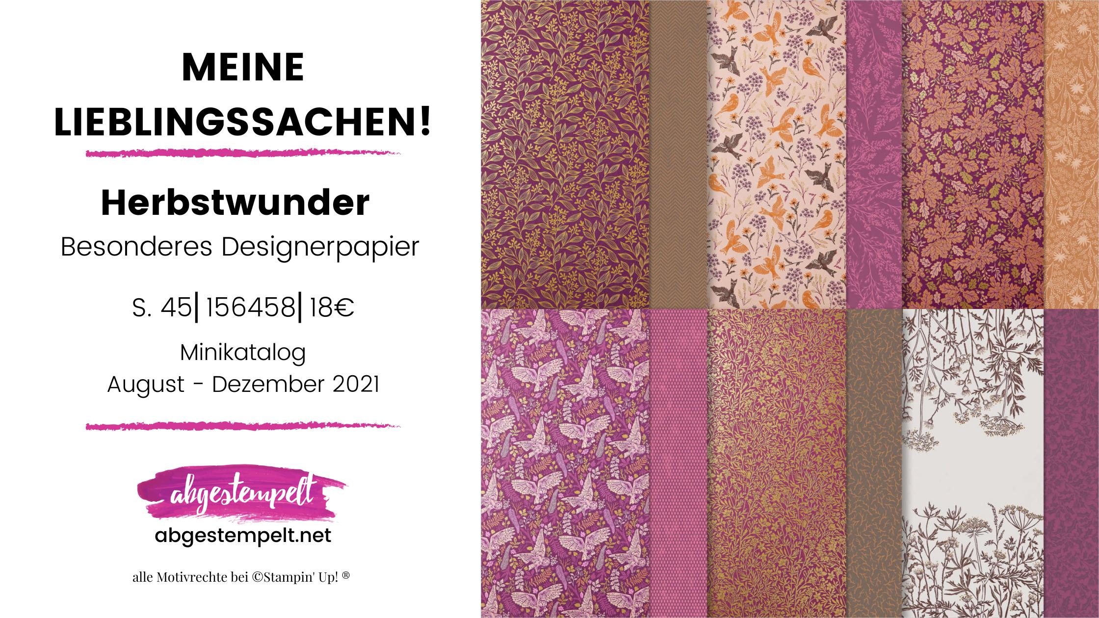 Herbstwunder Stampin Up Lieblingssachen-2