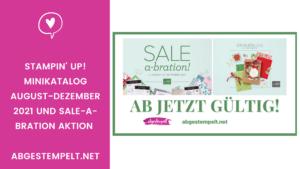 Kopie von Stampin Up Sale A Bration 2021 Minikatalog