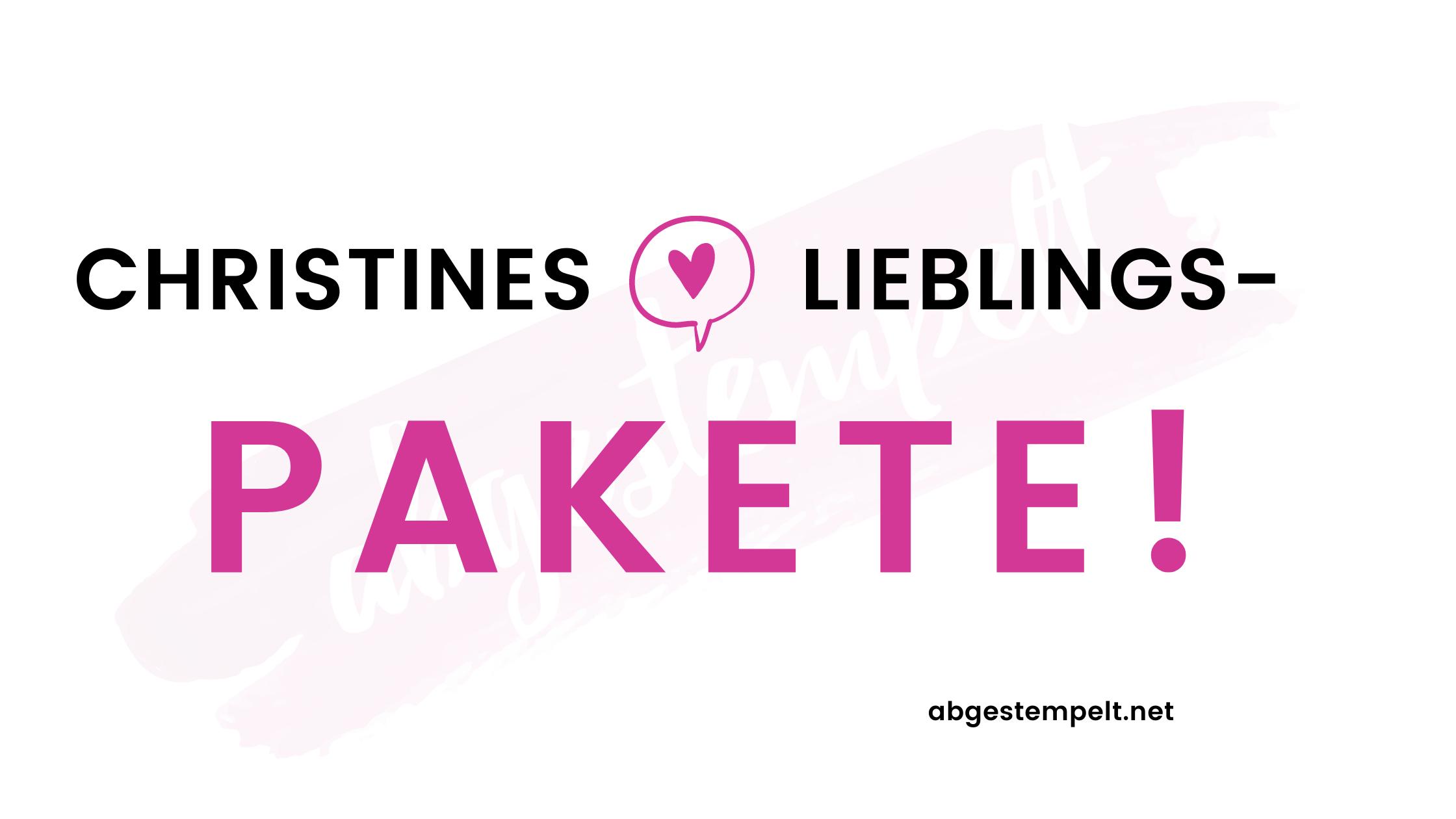 Stampin Up Lieblingspakete