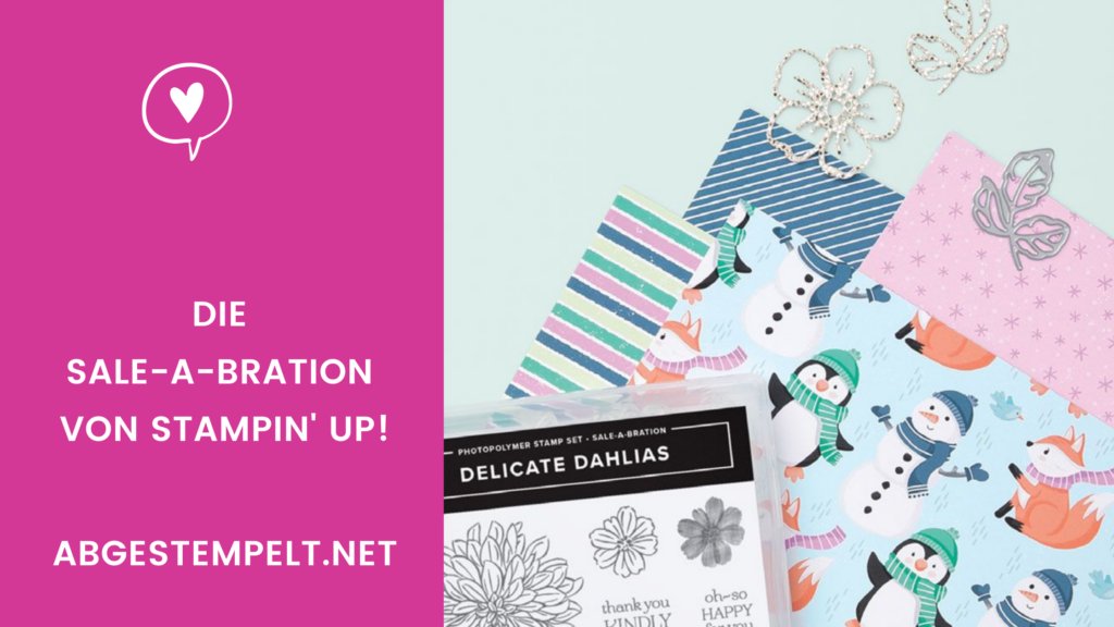 Stampin Up Sale-A-Bration August 2021 Tour
