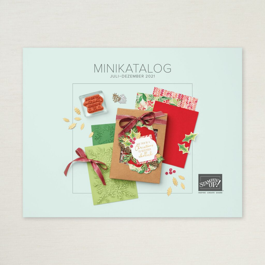 Stampin Up Minikatalog August-Dezember 2021 cover